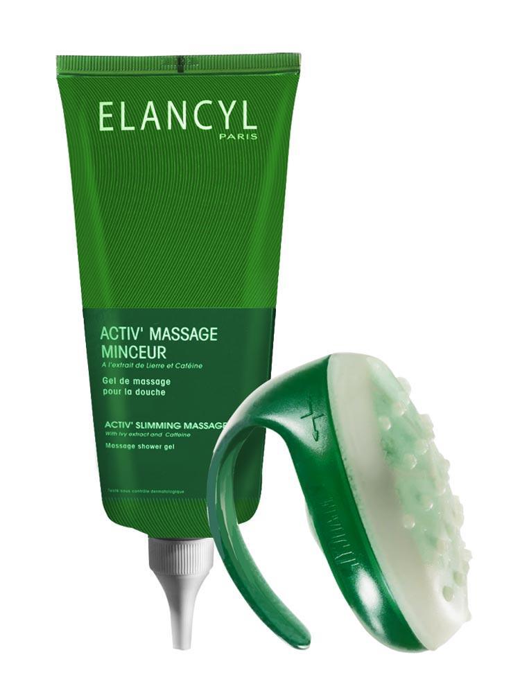 Elancyl Activ' Slimming Massage Glove + Gel 200ml
