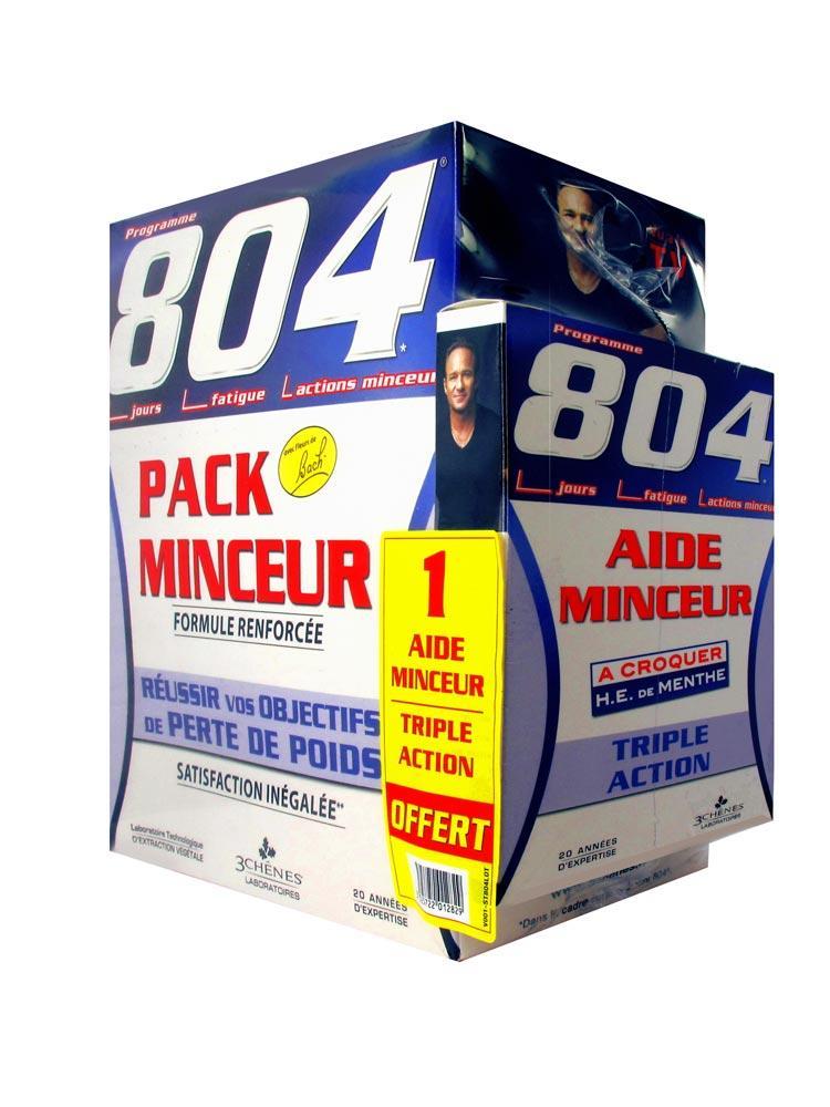 Les 3 Chênes 804 Slimming Pack Reinforced Formula + 1 Free