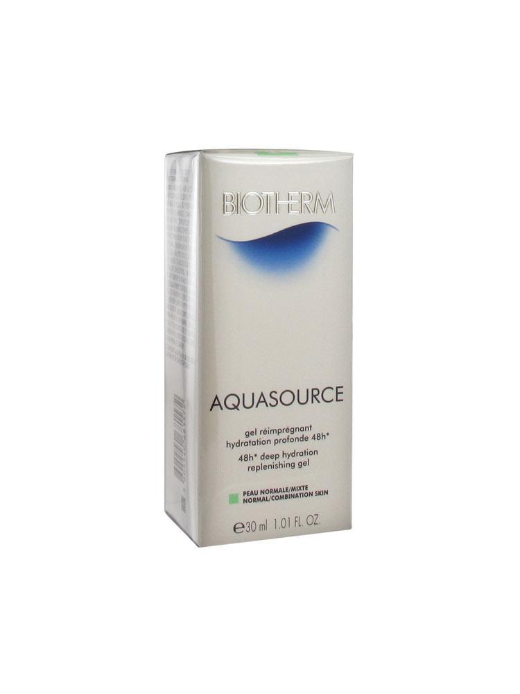 biotherm aquasource 48h deep hydration replenishing gel. Black Bedroom Furniture Sets. Home Design Ideas