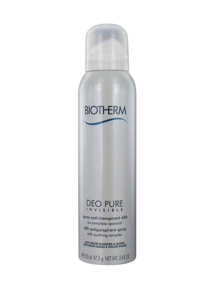 biotherm deo pure invisible 48h anti perspirant spray 150ml. Black Bedroom Furniture Sets. Home Design Ideas