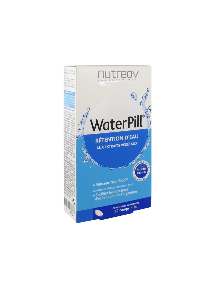 Nutreov Water Pill Rétention d'Eau 30 Comprimés - Acheter