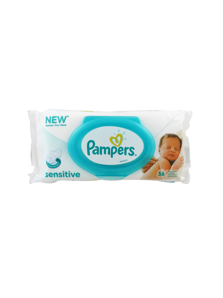 Pampers Sensitive 56 Baby Wipes Buy At Low Price Here