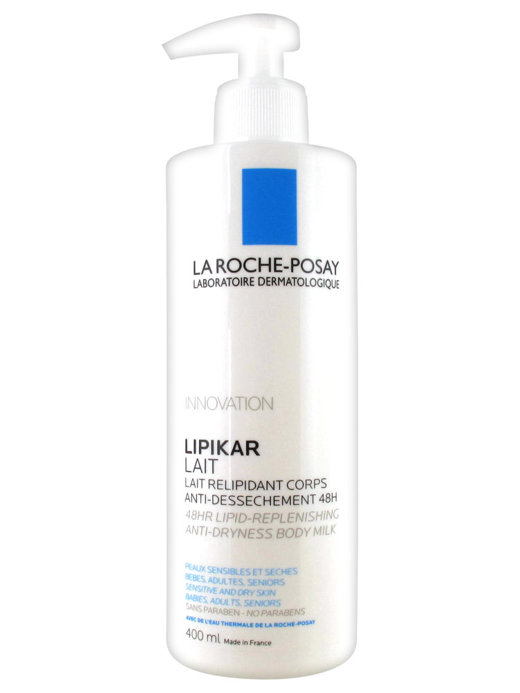 la roche posay lipikar lipid replenishing body milk 400ml. Black Bedroom Furniture Sets. Home Design Ideas