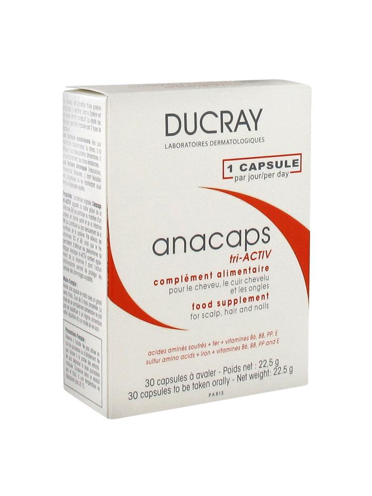 ducray anacaps tri activ 30 capsules. Black Bedroom Furniture Sets. Home Design Ideas
