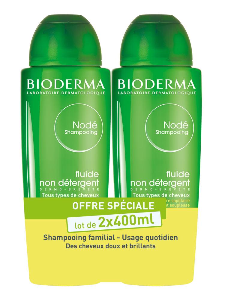 bioderma nod fluid shampoo 2 x 400ml. Black Bedroom Furniture Sets. Home Design Ideas