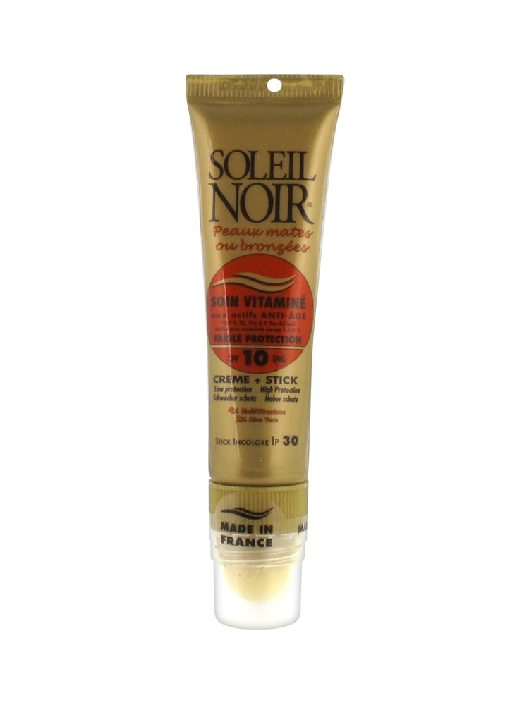 soleil noir soin vitamin cr me spf 10 20 ml stick spf 30 2 g. Black Bedroom Furniture Sets. Home Design Ideas