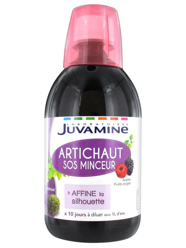 Juvamine SOS Minceur Artichaut 500 ml - Acheter à prix bas ici