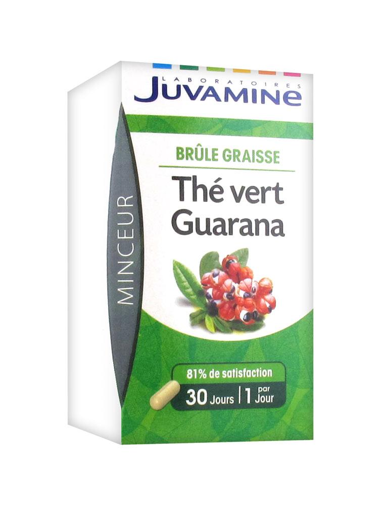 juvamine thé vert guarana avis