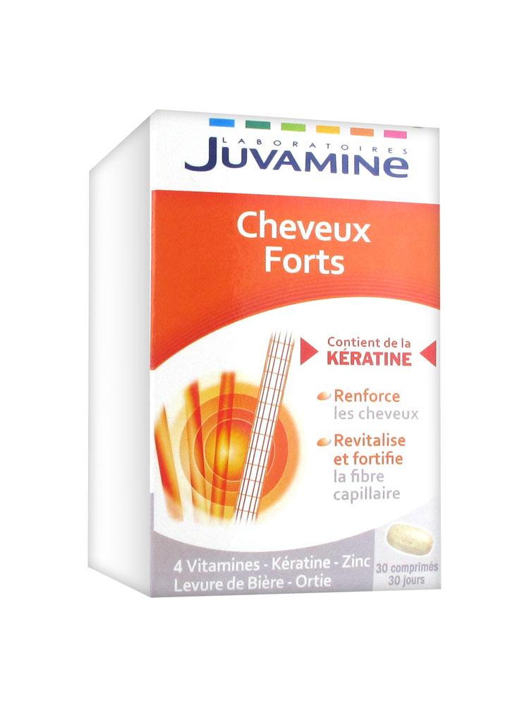 Juvamine Cheveux Forts 30 Comprimés - Acheter à prix bas ici