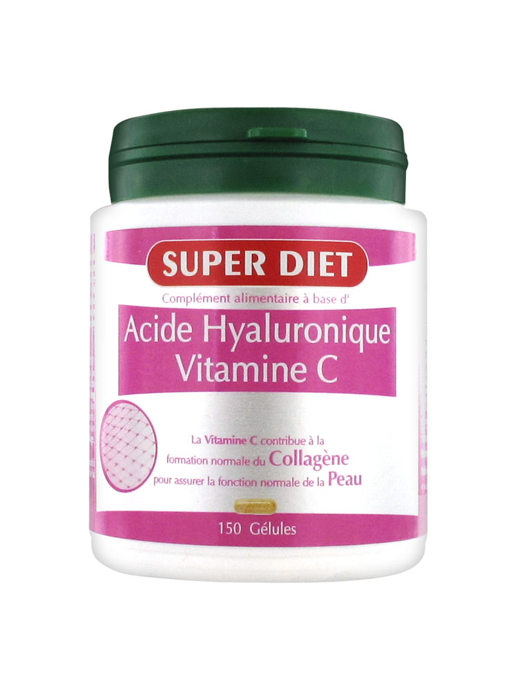 super diet acide hyaluronique vitamine c 150 g lules prix bas ici. Black Bedroom Furniture Sets. Home Design Ideas