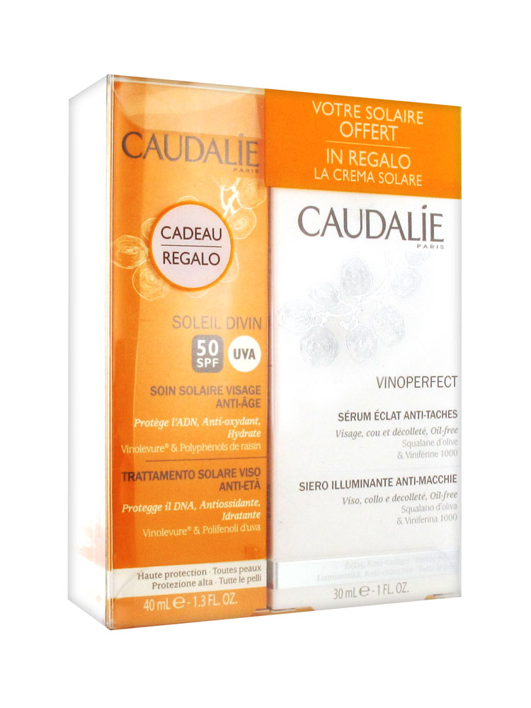 caudalie vinoperfect anti spots radiance serum 30ml anti aging facial sun care spf50 40ml offered. Black Bedroom Furniture Sets. Home Design Ideas