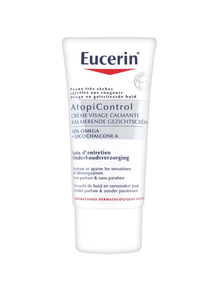 eucerin atopicontrol soothing face cream 50ml buy at low. Black Bedroom Furniture Sets. Home Design Ideas