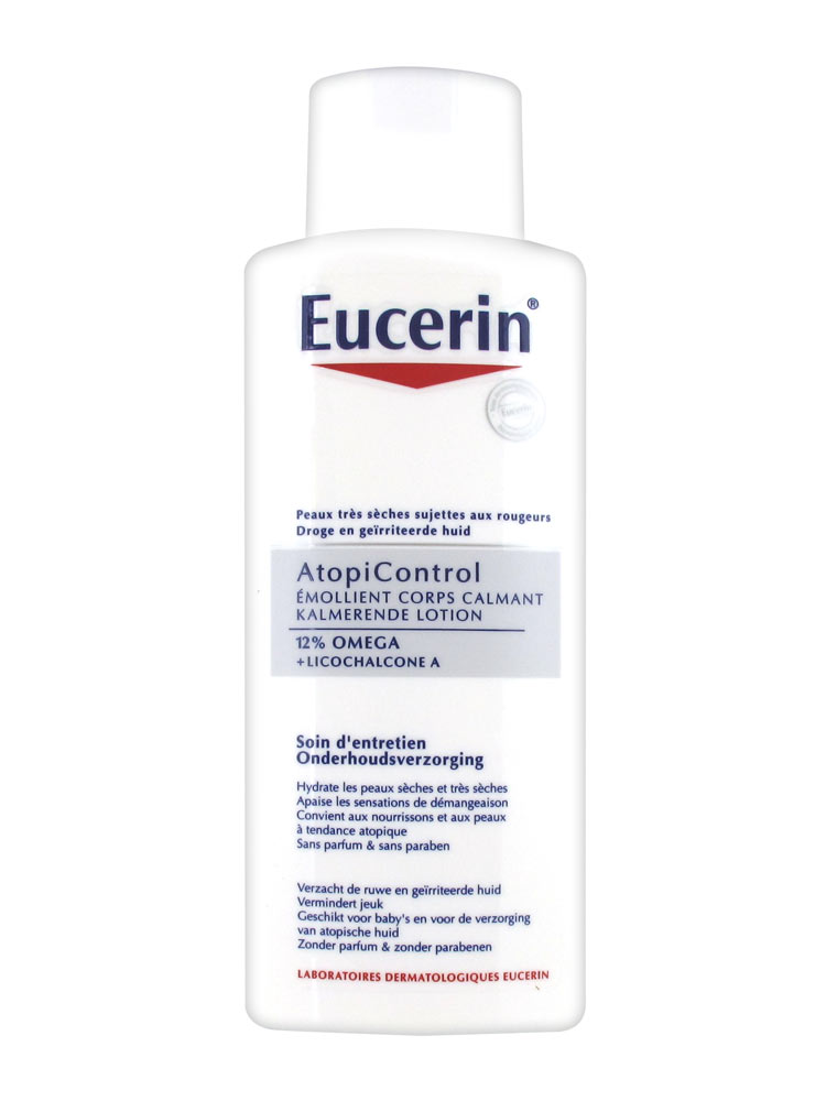 Eucerin atopicontrol soothing body lotion 12 omega 250ml