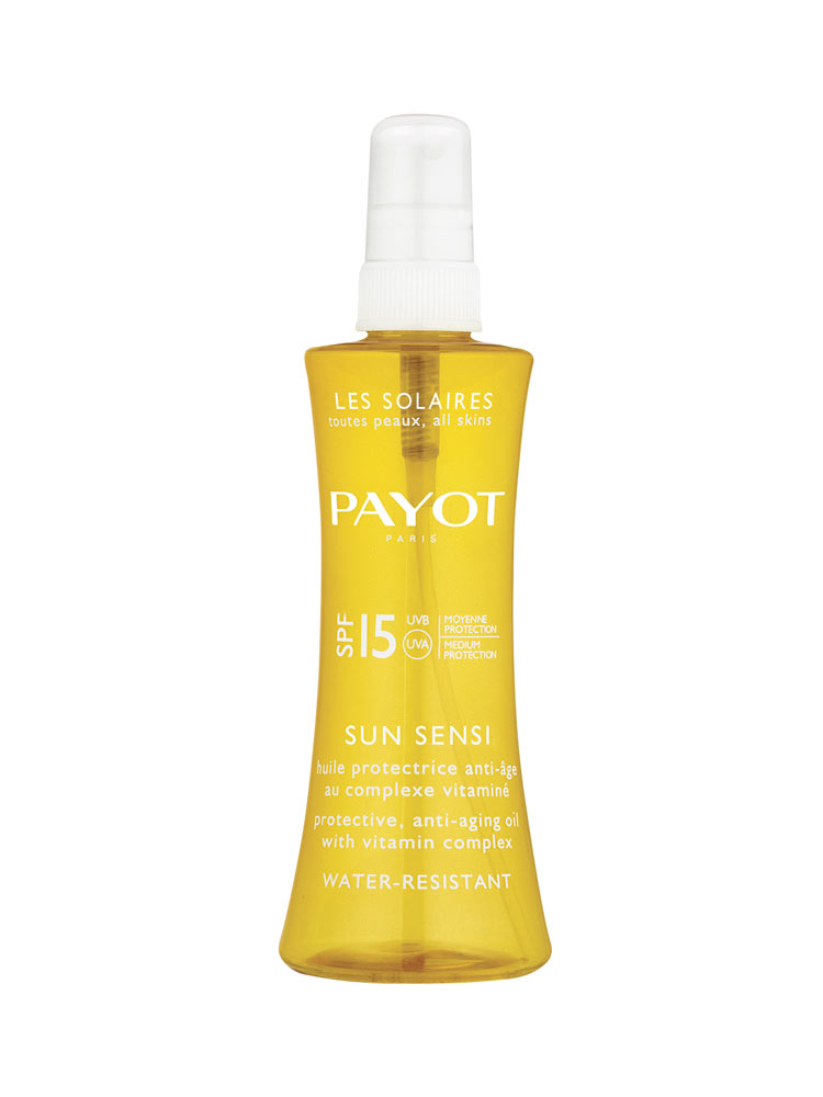 Payot Les Solaires Sun Sensi SPF 15 Body and Hair Oil 125ml