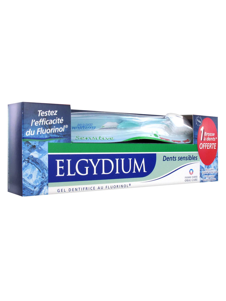 elgydium gel dentifrice dents sensibles 75 ml brosse dents offerte. Black Bedroom Furniture Sets. Home Design Ideas