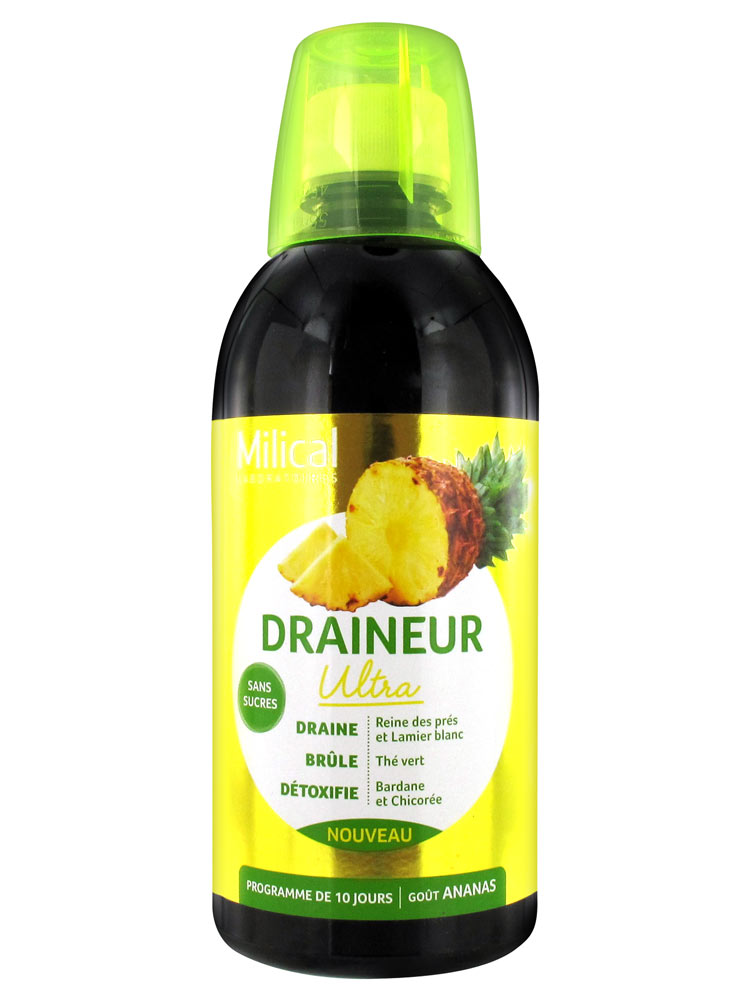 Milical Draineur Ultra Pineapple 500ml