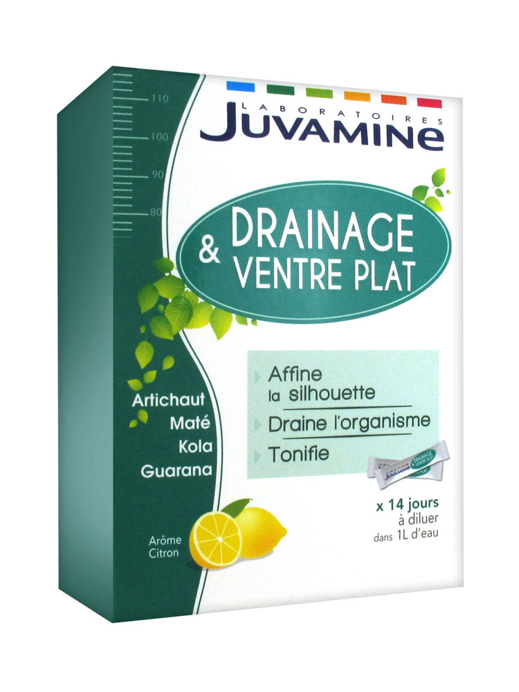 Juvamine Drainage & Flat Belly 14 Sticks | Buy at Low
