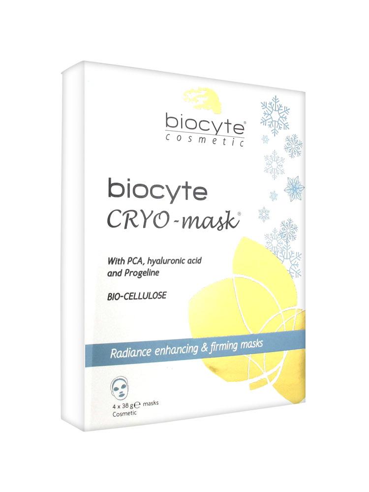 biocyte cryo mask lot de 4 masques de 38 g acheter prix bas ici. Black Bedroom Furniture Sets. Home Design Ideas