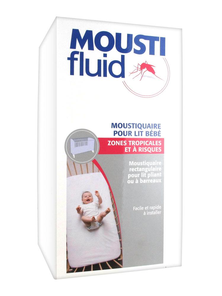 moustifluid moustiquaire pour lit b b zones tropicales et risques. Black Bedroom Furniture Sets. Home Design Ideas