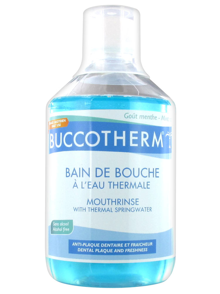 buccotherm bain de bouche l 39 eau thermale sans alcool 500 ml. Black Bedroom Furniture Sets. Home Design Ideas