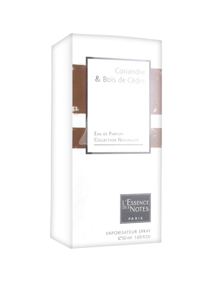 l 39 essence des notes fragrance water coriander cedar wood 50ml. Black Bedroom Furniture Sets. Home Design Ideas