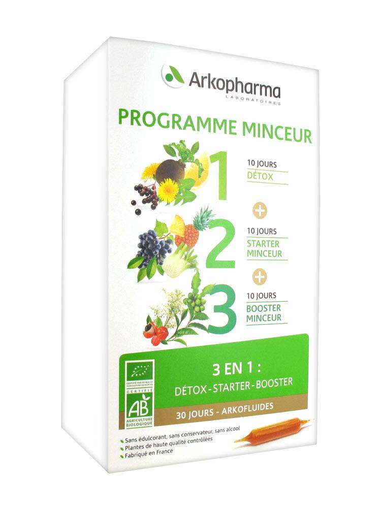 Arkofluides Programme Minceur de Arkopharma   Achat à Prix