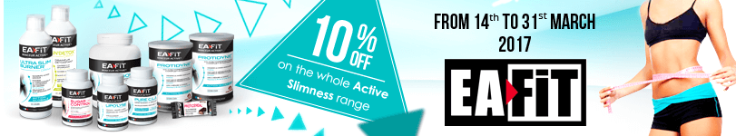 10% off on the whole Eafit Active Slimness range