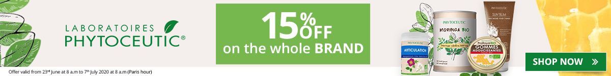 15% off on all the Phytoceutic products