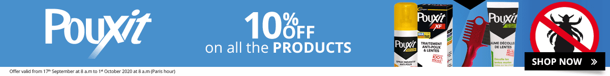 10% off on all the Pouxit products