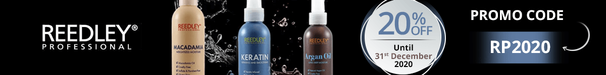 20% off on all the Reedley Professional products with the promo code: RP2020