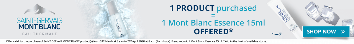 on all the Saint-Gervais Mont Blanc products