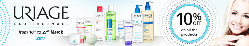 10% off on all the Uriage products