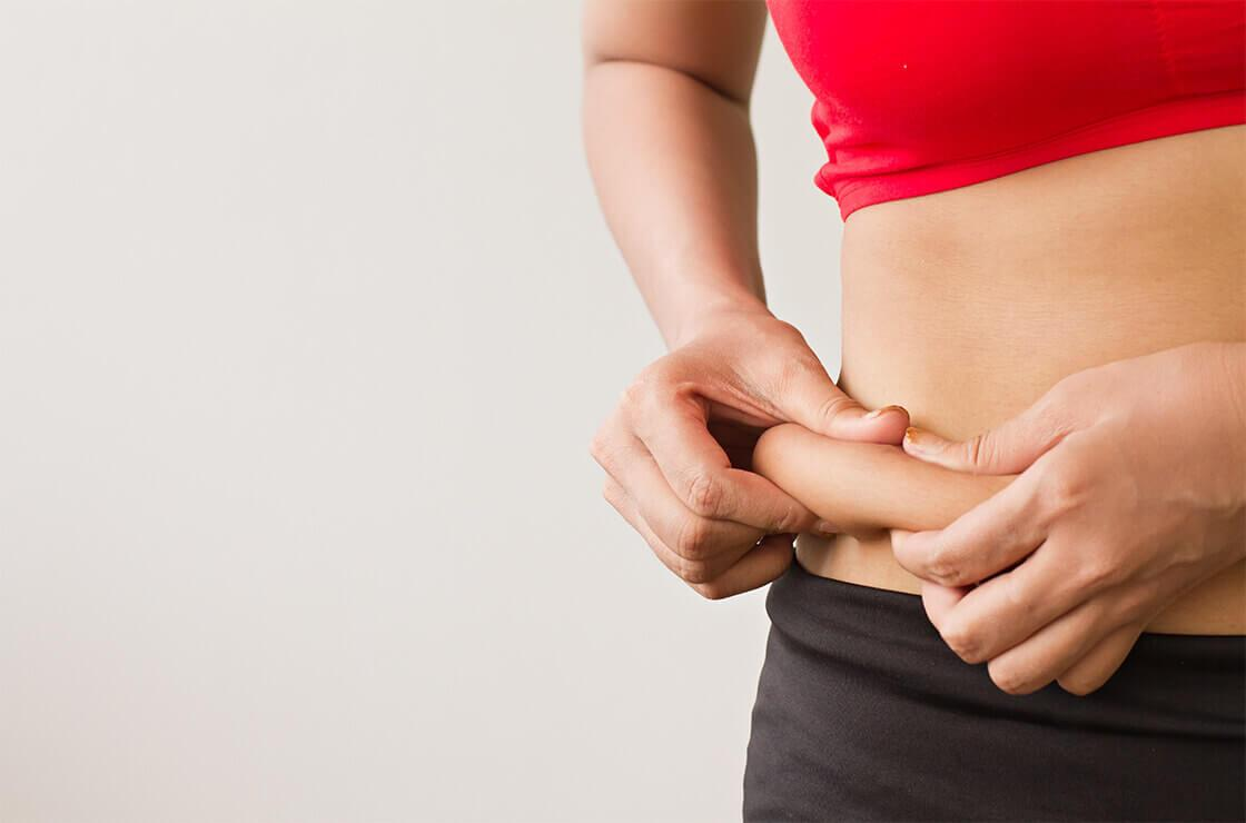 Geben Sie zu, wenn es darum geht, Gewicht zu verlieren. abnehmen