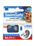 Alpine Hearing Protection Swimsafe Earplugs + 1 Minibox