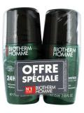 Biotherm Homme 24 H Day Control Natural Protection Deodorant 2 x 75 ml