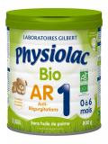 Physiolac Organic Anti-Regurgitation 1 from 0 to 6 Months 800g