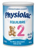Physiolac Equilibrio 2 6 a 12 Meses 900 g