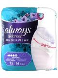 Always Discreet Underwear Normal Low Size M 12 Panties