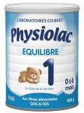 Physiolac Equilibre 1 0 à 6 Mois 900 g
