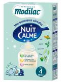 Modilac Quiet Night Gluten Free from 4 Months to 3 Years 300g