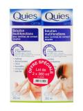 Quies Optik Multifunktionslösungs-Set mit 2 x 360 ml