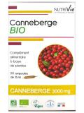 Nutrivie Canneberge Bio 20 Ampoules