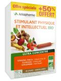 Arkopharma Organic Physical and Intellectual Stimulant 30 Phials Special Offer