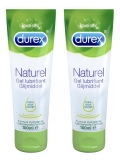 Durex Naturel Gel Lubrifiant Lot de 2 x 100 ml