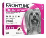Frontline TRI-ACT Dogs 2-5kg 6 Pipettes