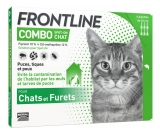 Frontline Combo Spot-On Cats and Ferrets 6 Pipettes