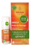 Weleda Huile de Massage à l'Arnica 200 ml + Déodorant Argousier Roll-On 24H 50 ml Offert