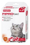 Beaphar Fiprotec 50 mg Solution Spot-on Chats 6 Pipettes de 0,50 ml