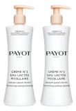 Payot Crème N°2 Eau Lactée Micellaire Harmonising Soothing Cleansing 2 x 400ml
