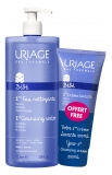 Uriage Baby 1st Cleansing Water Without Rinsing 1L + 1st Cleansing Cream 200ml Free